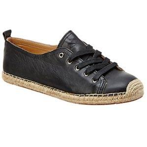 Franco Sarto Leather Espadrilles